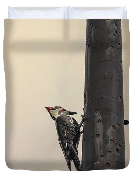Woodpecker Duvet Cover