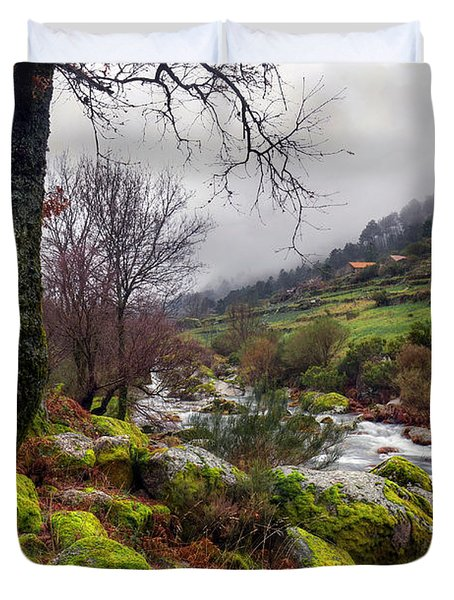 Woods Landscape Duvet Cover