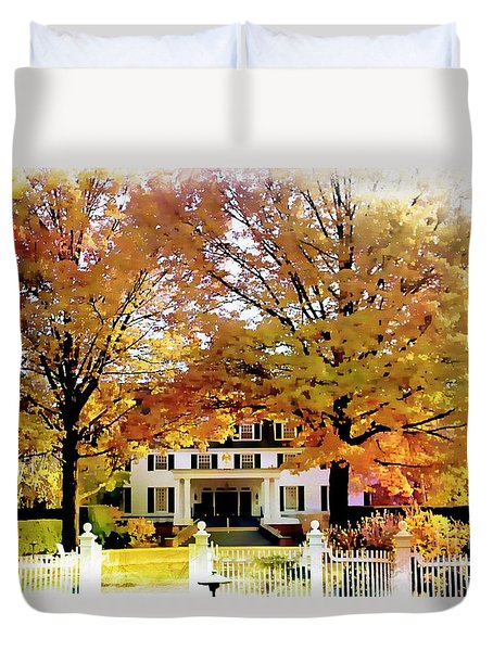 Woodstock Inn And Resort Duvet Cover