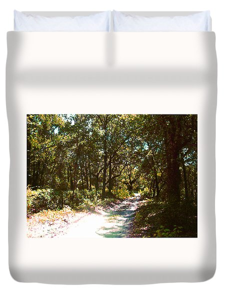Woodsy Trail Duvet Cover