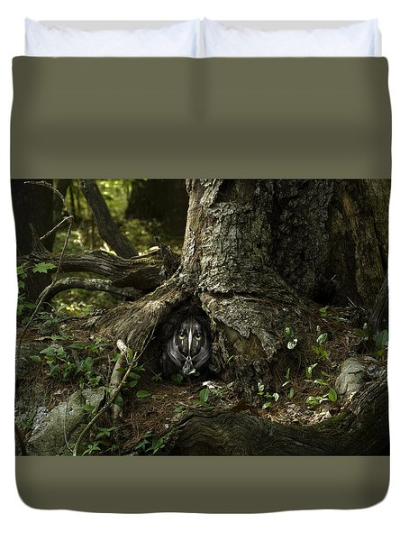 Woody 142 In The Wild Duvet Cover