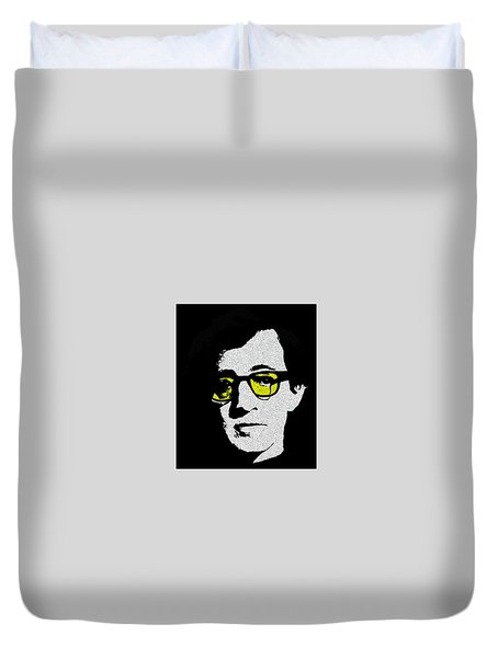 Woody Allen Duvet Cover