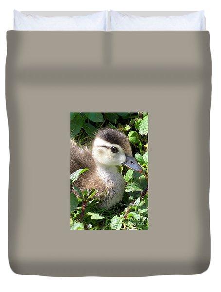 Woody Duckling Duvet Cover