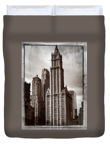 Woolworh Building 2008. Duvet Cover