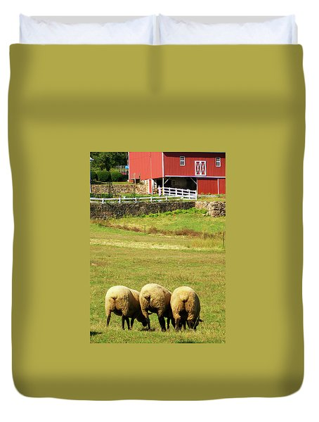 Wooly Bully Duvet Cover