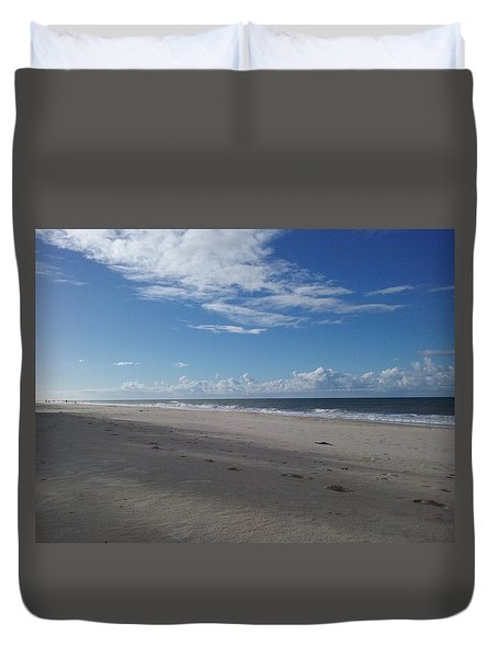 Woorim Beach Duvet Cover