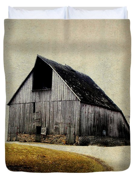 Work Wanted Duvet Cover by Julie Hamilton