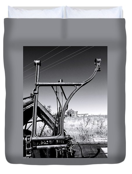 Worked To Death Duvet Cover