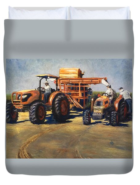 Workin' At The Ranch Duvet Cover