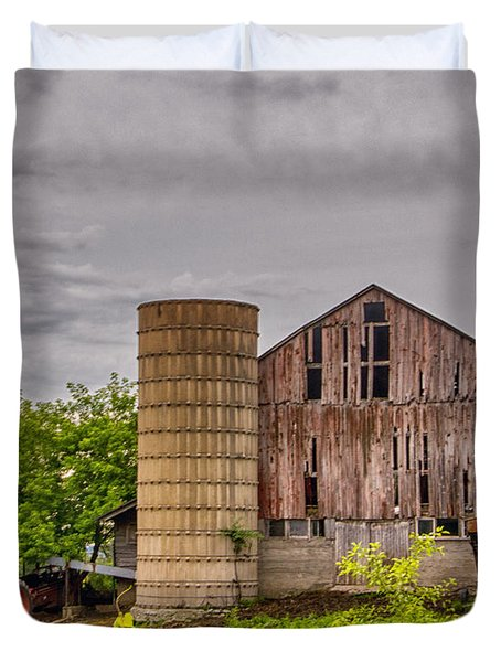 Working Barn Duvet Cover