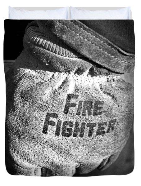 Working Gloves Duvet Cover