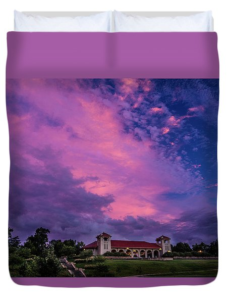 World Fair Pavilion Duvet Cover