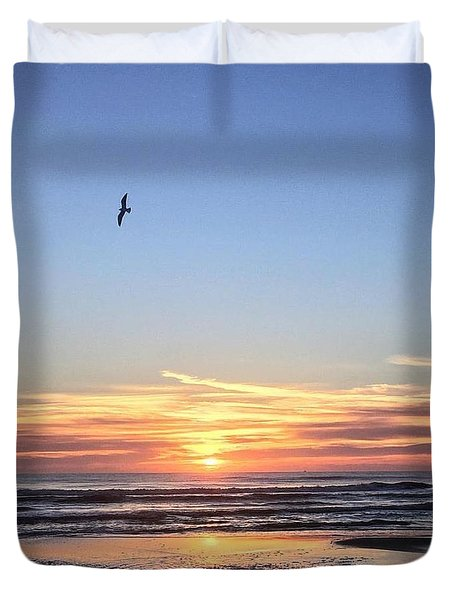World Gratitude And Peace Day Duvet Cover