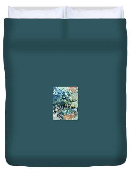 World In The Sea Duvet Cover