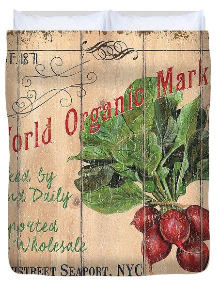 World Organic Market Duvet Cover