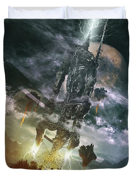 World Thief Duvet Cover