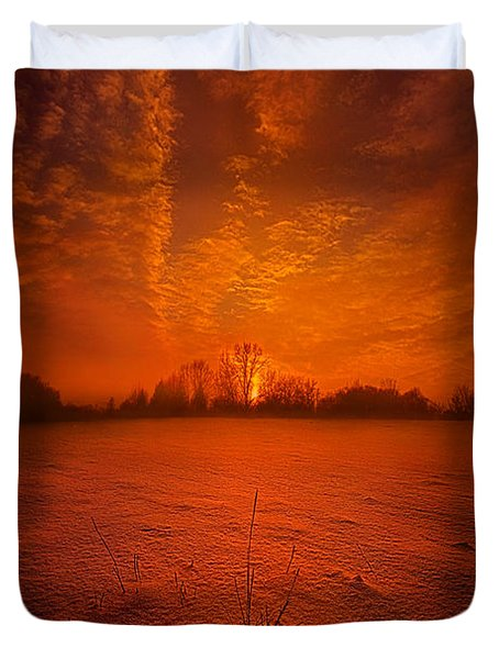 World Without End Duvet Cover
