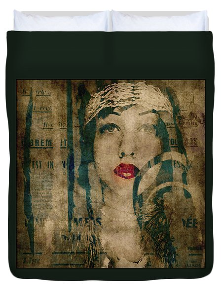 Duvet Cover featuring the photograph World Without Love  by Paul Lovering