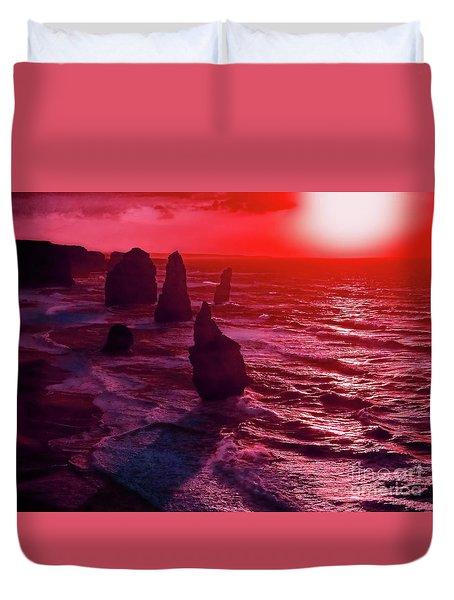 World's End Duvet Cover