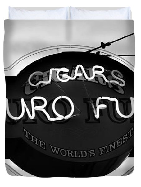 Worlds Finest Cigar Duvet Cover by David Lee Thompson