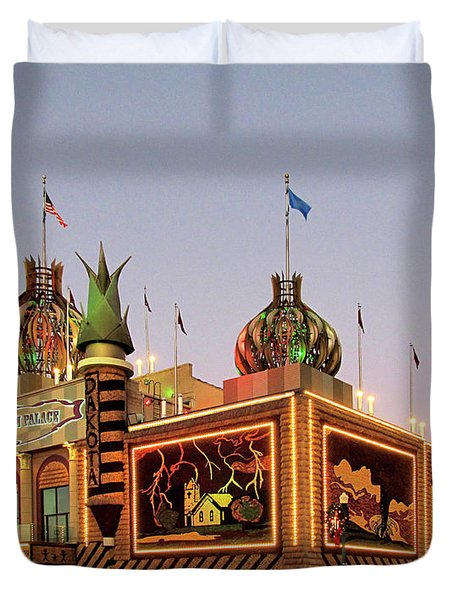 World's Only Corn Palace 2017-18 Duvet Cover