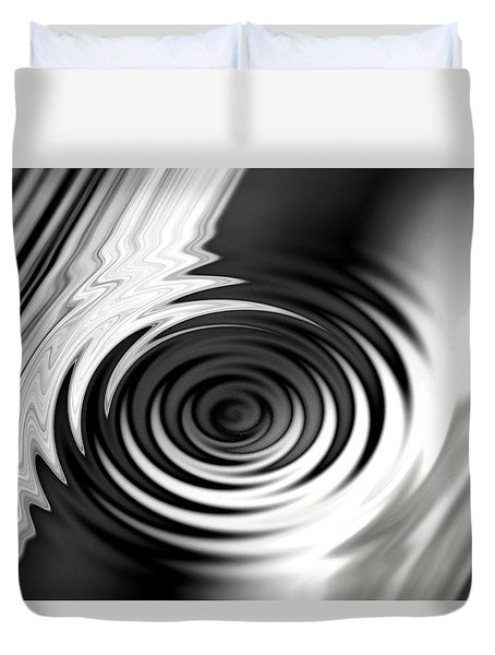 Wormhold Abstract Duvet Cover