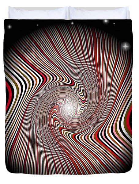Wormhole Trip 2 Duvet Cover