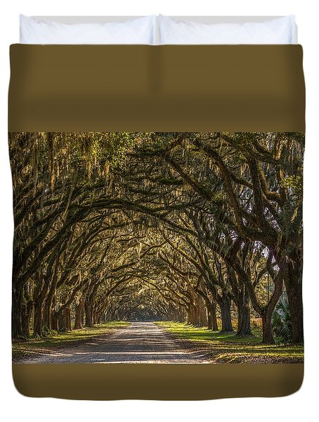 Wormsloe Historic Site Duvet Cover