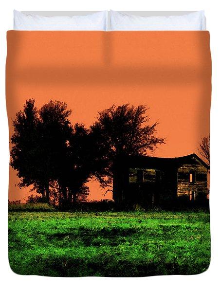 Worn House Duvet Cover