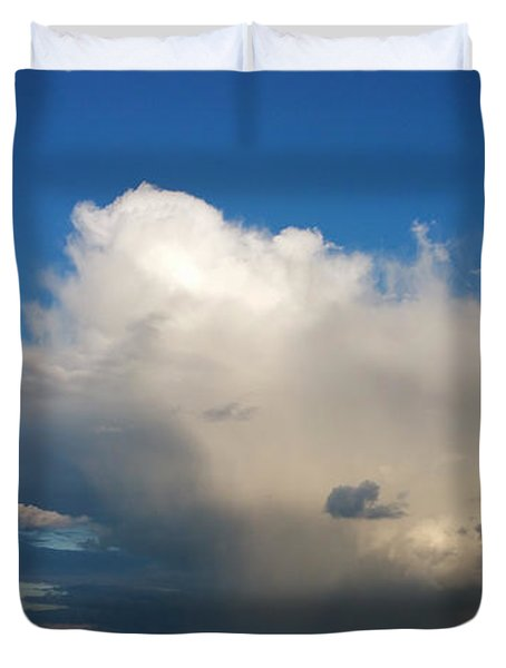Worthing  Cloudscape1 Duvet Cover