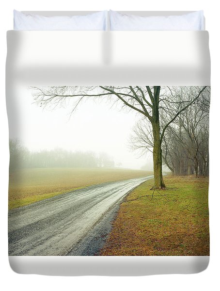 Worthington Lane Duvet Cover by Jan W Faul