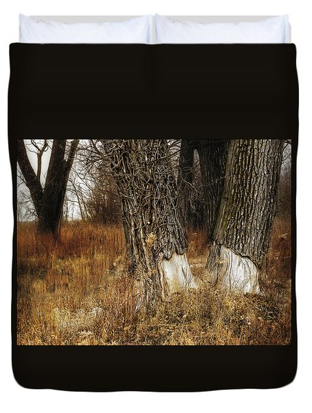 Wounded Duvet Cover