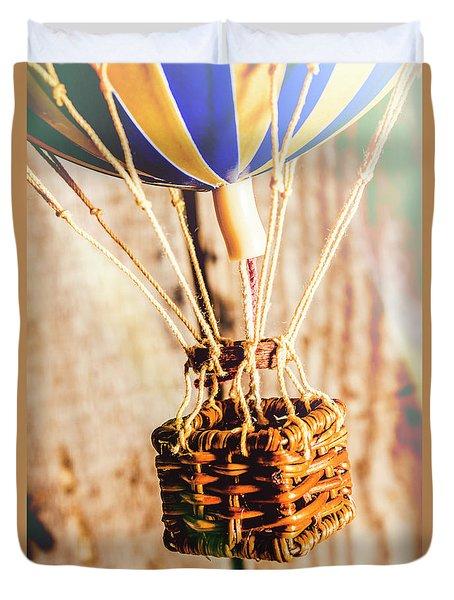 Woven Air Craft Duvet Cover