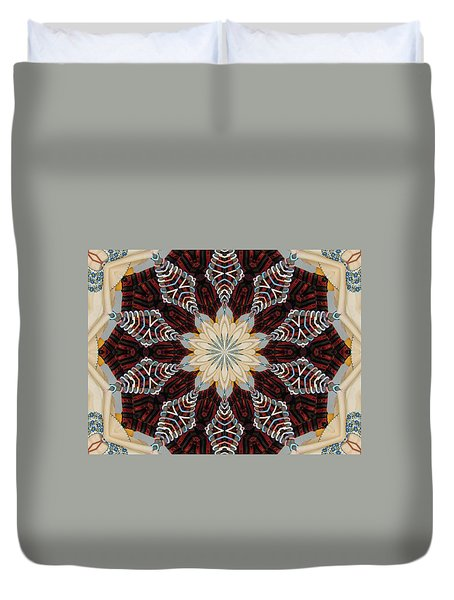 Woven Beauty Duvet Cover