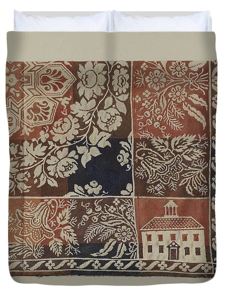 Woven Coverlet Duvet Cover