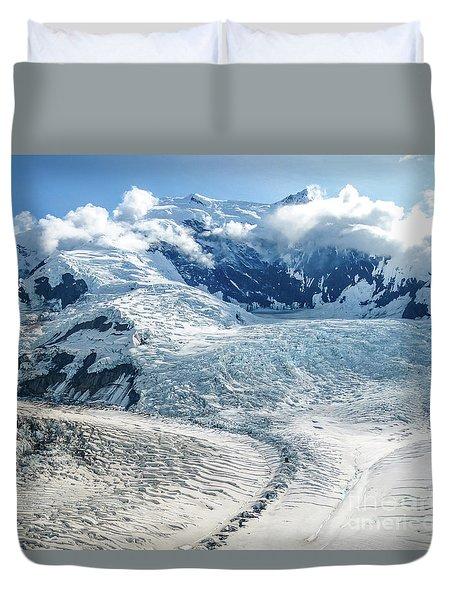 Wrangell Alaska Glacier Duvet Cover