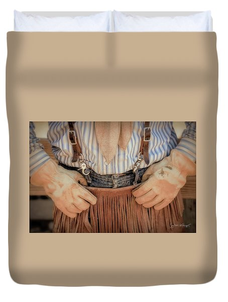 Wrangler Gloves Duvet Cover