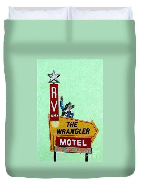 Wrangler Motel Duvet Cover