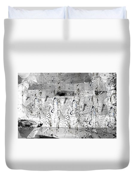 Duvet Cover featuring the photograph Wrap Up You Heart.  by Danica Radman