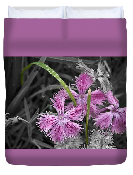 Duvet Cover featuring the photograph Wrapped Up by Deborah Klubertanz