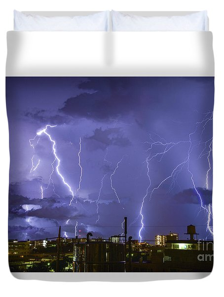 Wrath Of Gods Duvet Cover