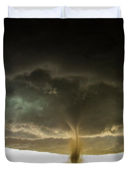 Wray Colorado Tornado 060 Duvet Cover