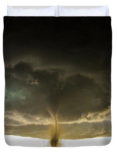 Wray Colorado Tornado 060 Duvet Cover