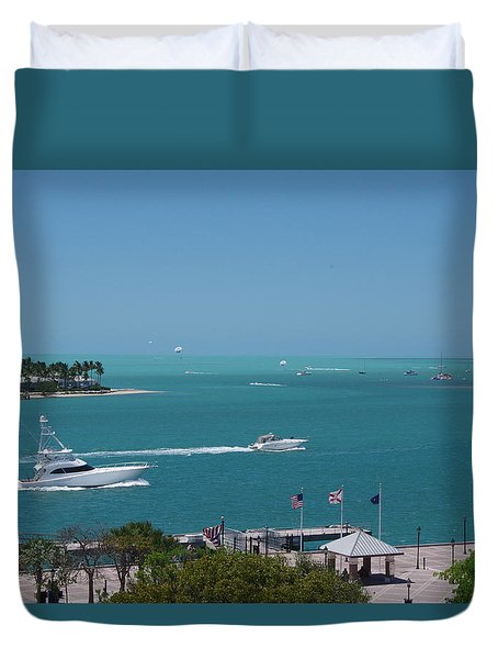 Wreck Ashore Duvet Cover by Greg Graham