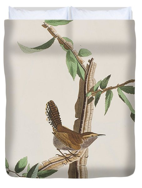 Wren Duvet Cover by John James Audubon