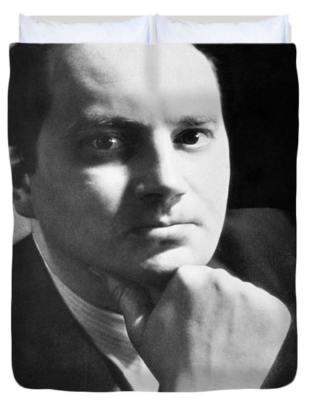 Writer Thomas Wolfe Duvet Cover