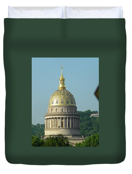 West Virginia State Capital Building  Duvet Cover