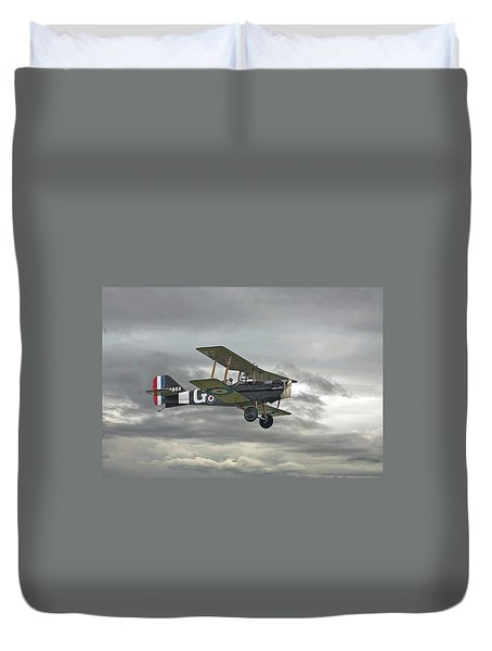 Duvet Cover featuring the digital art Ww1 - Icon Se5 by Pat Speirs