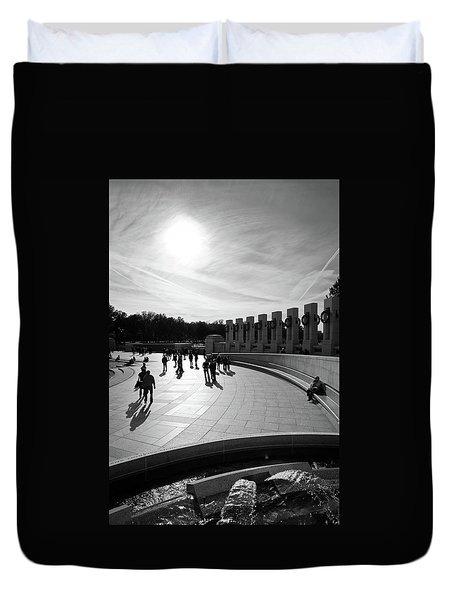 Wwii Memorial Duvet Cover