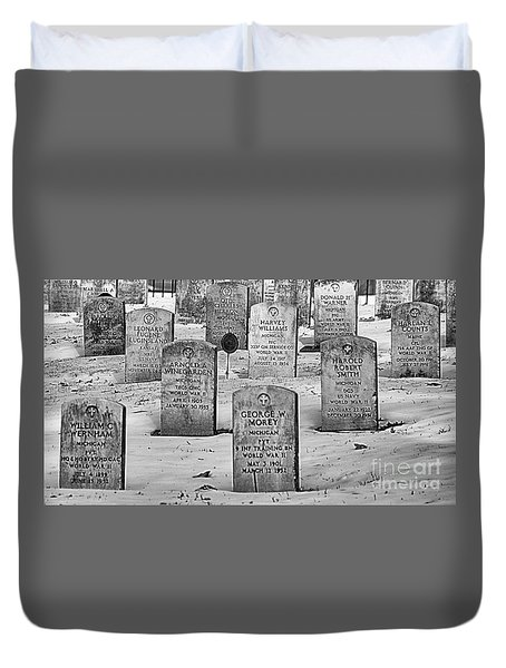 Wwii Soldiers  Duvet Cover by JRP Photography